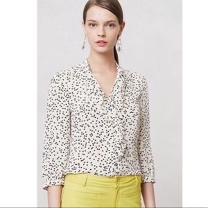 ANTHROPOLOGIE BUTTON UP BLOUSE